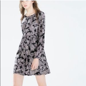 ZARA paisley mini dress